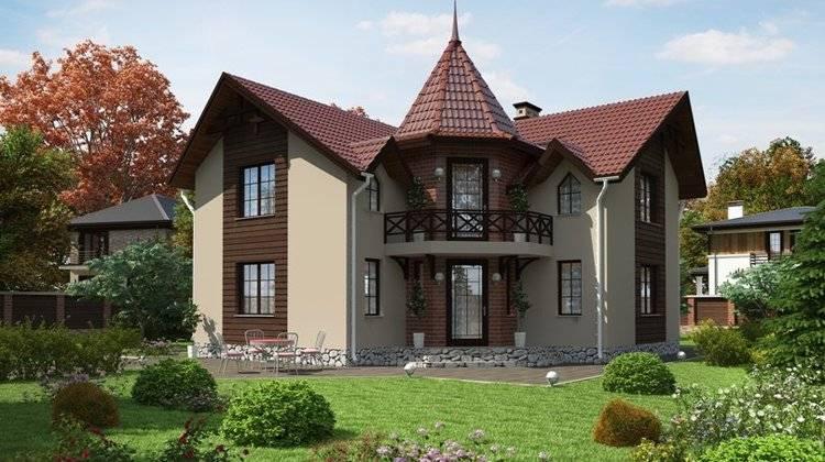 Проекты домов 10 на 10, адаптированные для строительства в р.